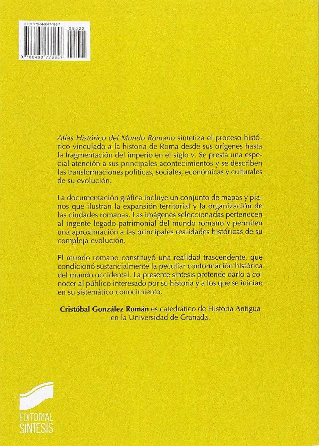 Atlas Histórico del Mundo Romano (Atlas Históricos): Amazon ...