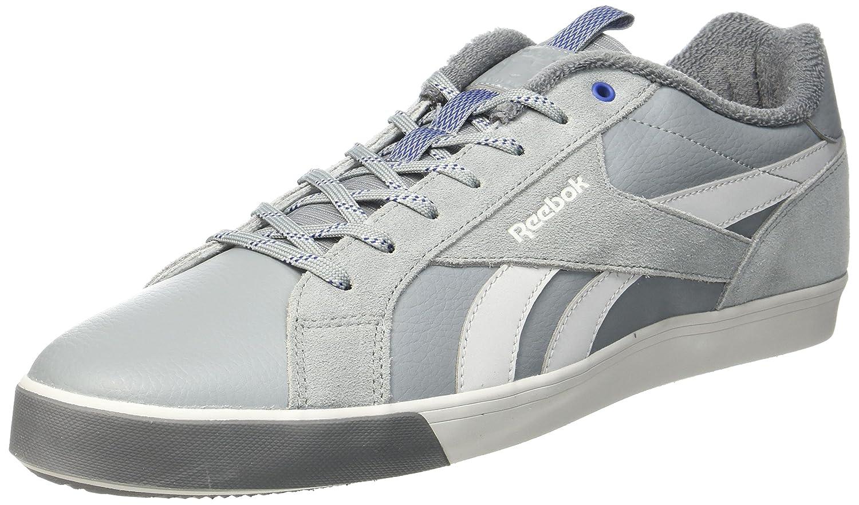 Reebok Herren Royal Complete 2lw Sneaker  44 EU|Grau (Flint Grey/Skull Grey/Alloy/Deep Cobalt)