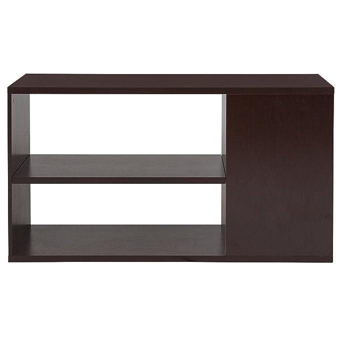 Amazon.com: Flash Furniture Dorchester Bookshelf in Walnut ...