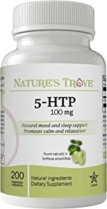 5-HTP 100 mg by Nature's Trove - 200 Vegetarian Capsules