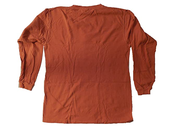 8c2db26475defe Image Unavailable. Image not available for. Color  Hooters Burnt Orange  Long Sleeve T-Shirt