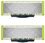 Norelco QP210/80 Philips OneBlade - Cuchilla de repuesto, NA, 2 unidades