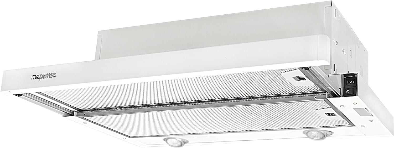 Mepamsa Superline 45 Campana aspirante extraplana, color blanco, 20 W, 2 Velocidades: Amazon.es: Hogar