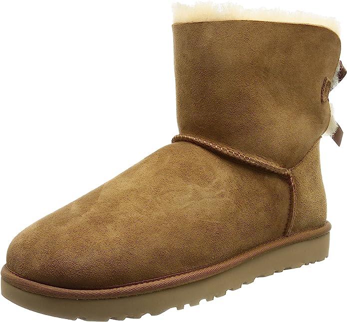TALLA 40 EU. UGG Mini Bailey Bow II, Classic Boot Mujer