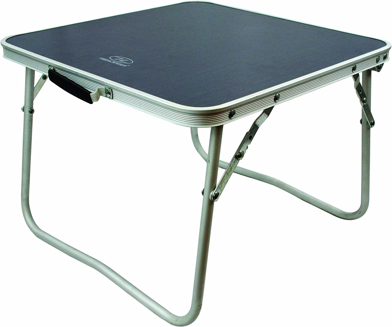 Highlander Small Folding Simple MDF Camping Table Mens FUR075