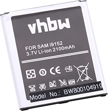 vhbw batería 2100mAh (3.7V) para Smartphone, Teléfono móvil ...
