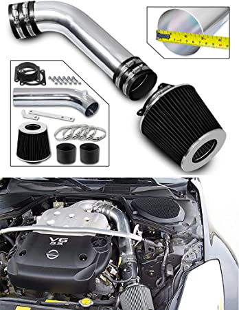 G35 3.5L V6 Performance Cold Air Intake Kit With Turbine Filter for 2003 2004 2005 2006 Nissan 350Z /& Infiniti FX35 Blue