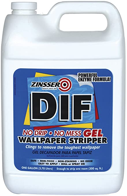Zinsser Dif Gel Wallpaper Stripper 3 8 Litres Amazon Co Uk