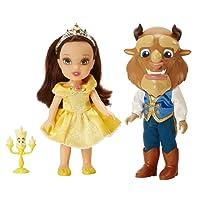 Taldec Disney La Belle Et La BETE - 98964 - Poupée La Belle Et La Bete 15 Cm