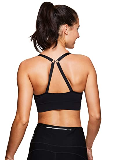 6c8f51cd419c3 RBX Active Women s Seamless Low Impact Workout Sports Bra at Amazon Women s  Clothing store