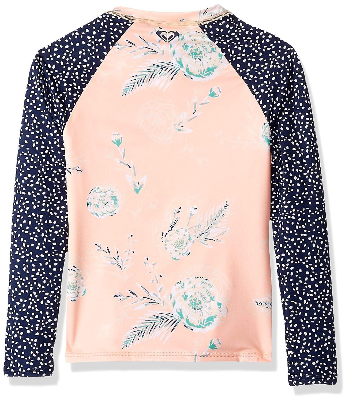 Roxy Big Girls Long Sleeve Zipped Fashion Rashguard ERGWR03128