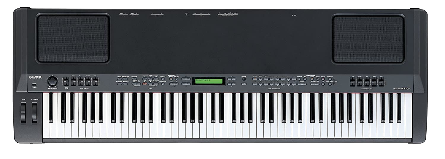 Yamaha CP40 Stage Piano with Weighted Keys and Sustain Pedal Yamaha PAC