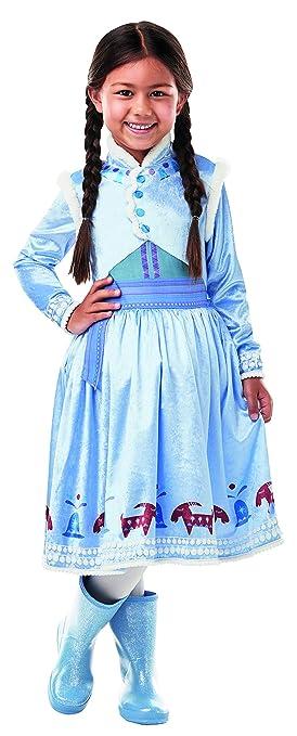 Fancy Ole - Disfraz de Anna Frozen Olaf para niña con Vestido de ...