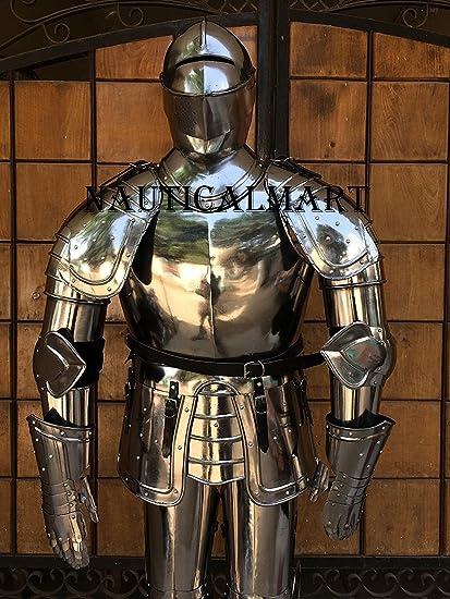 nauticalmart medieval full suit of armor halloween costume