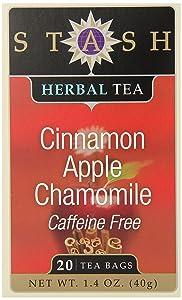 Herbal Tea Apple Cinnamon 20 Bags (6 Boxes)