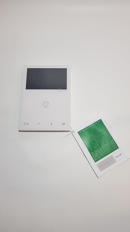 'Monitor a colori 4,3bildschirm AP Bianco 6721wmit funzione vivavoce, 2fili 'Monitor a colori 4 COMELIT GROUP SPA 6721W