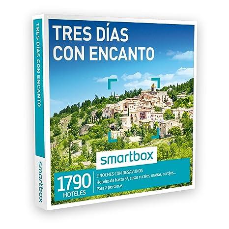 Smartbox Caja Regalo - TRES DÍAS CON ENCANTO - 1790 hoteles 5* y casas rurales