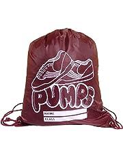 OSG Kids School Gym PE Pump Bag Shoe Drawstring Swimming Dance Shoes Bag e12470801