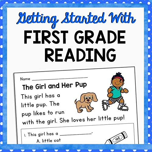 This Resource Is Designed To Help Young Students Develop Confidence,  Fluency, And Strong Comprehension Skills Early In The Process Of Learning  To Read. The Activities In This Resource Are Ideal For Use At The Beginning  Of First Grade And/or Toward The End Of