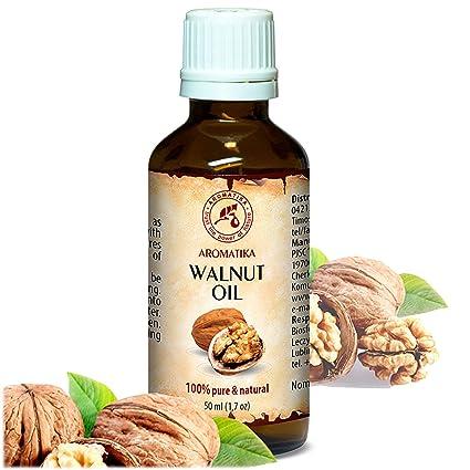 Aceite de Nuez 50ml - Juglans Regia Seed Oil - USA - 100% Puro y