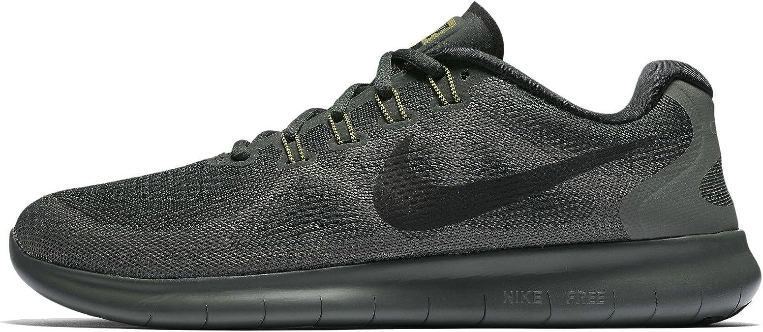Nike Free Rn 2017 Chaussures De Course Pour Homme Vert Noir Amazon Ca Chaussures Et Sacs à Main