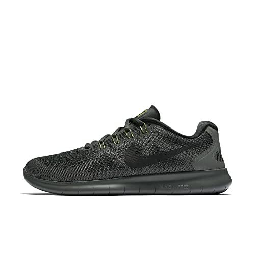cheap for discount 5cd74 f6d93 Nike Free RN 2017, Zapatillas de Running para Hombre, (Verde ExteriorNegro  301), 47.5 EU Amazon.es Zapatos y complementos