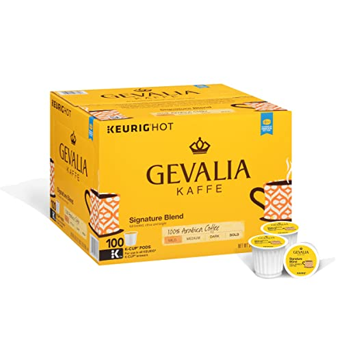Gevalia Signature Blend Coffee, K-CUP Pods, 100 Count