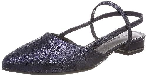 Tamaris Schuhe 1 1 29408 38 Bequeme Damen Sling, Sommerschuhe für modebewusste Frau,