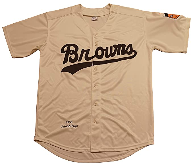 new product 62b0b ff0f6 Kooy Satchel Paige #29 St. Louis Browns 1953 Throwback Vintage Baseball  Jersey