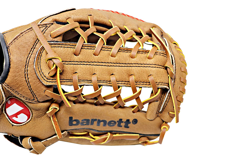 Outfield tama/ño 12,5/ REG Barnett sl-125/Piel Guante de b/éisbol marr/ón