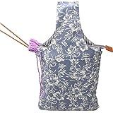 Teamoy Bolso de Ovillos Bolsa en Mano de Tejer Bolsos para Agujas Mochila de Crochet (Grande,arboles): Amazon.es: Hogar