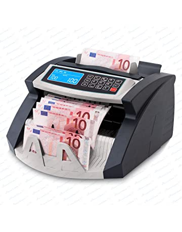 Contadora de billetes SR-3750 UV -MG- IR - Securina24® (negro