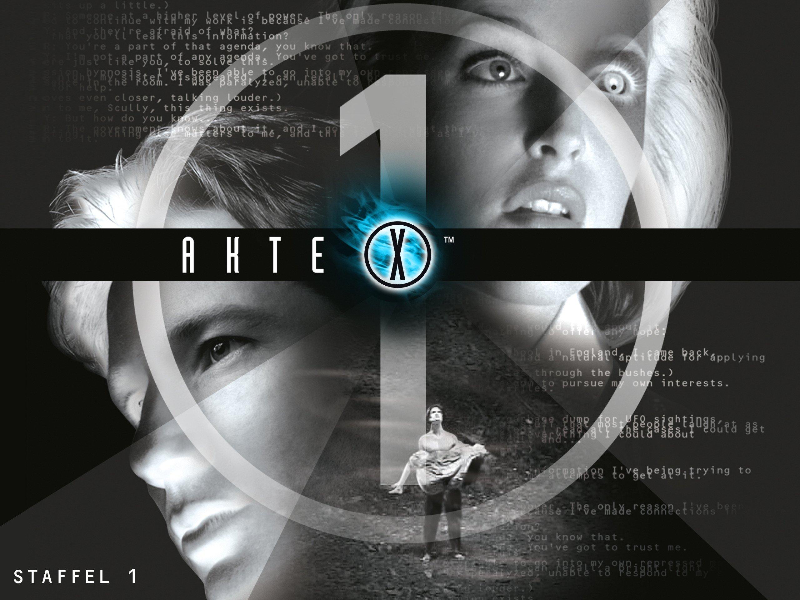 Akte X - Staffel 1 online schauen und streamen bei Amazon Instant ...