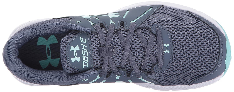 Under Armour Women's Dash 2 Running Shoe B01N1RN5BC (101)/White 6.5 M US|Apollo Gray (101)/White B01N1RN5BC e282c9