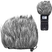 YOUSHARES Harige Outdoor Voorruit Muff, Pop Filter/Wind Cover Shield voor Zoom H5, H6 Draagbare Recorder