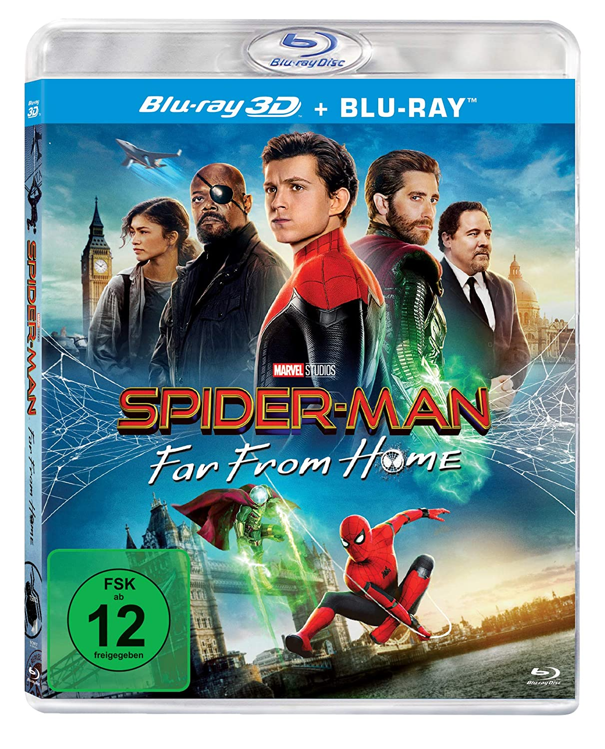 Spider-Man: Far from Home - 3D Version (2 Disc) [Blu-ray] [2019] [Region A & B & C]