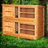 4ft Chartwell 2 Tier Rabbit Hutch (for keeping pets separate)
