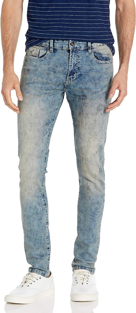 light indigo tint skinny jeans