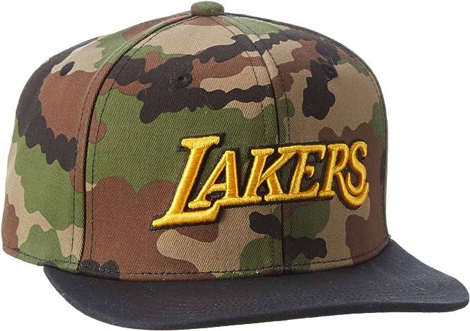 adidas NBA Snapback Bulls T OSFM - Gorra, Color Camuflaje/Dorado ...