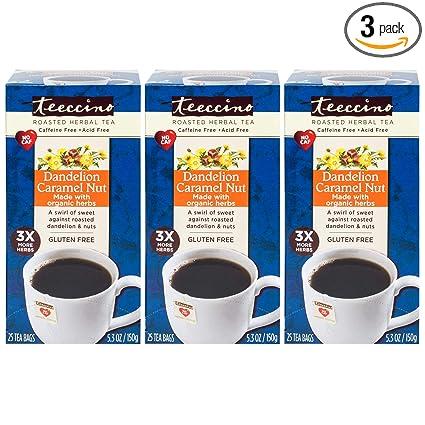 Teeccino - Bolsas de té alternativas para café a base de ...