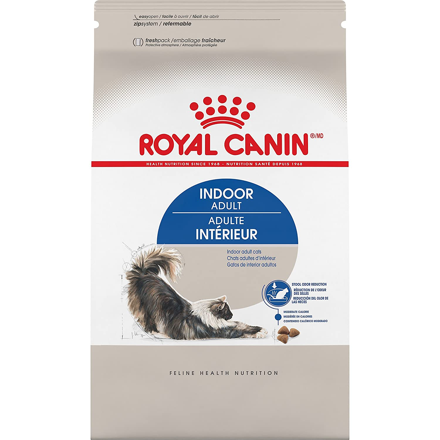 31ea85f5448354 Amazon.com   Royal Canin Feline Health Nutrition Indoor Adult Dry ...