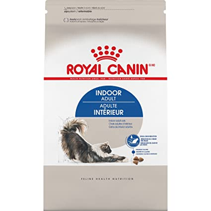 Royal Canin Feline Health Nutrition Indoor Adult Dry Cat Food, 3-Pound