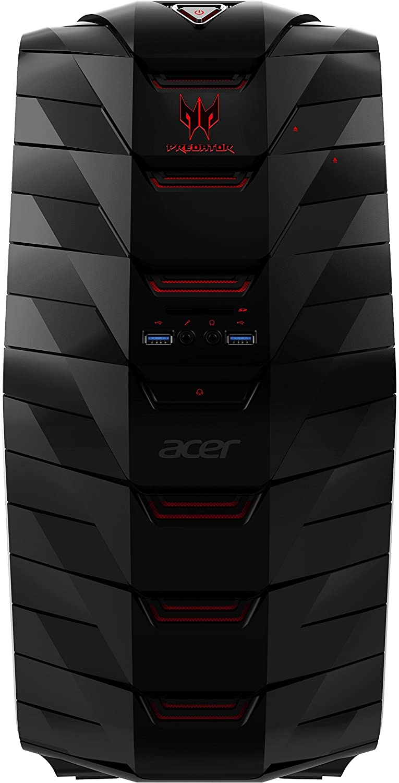 Acer Predator G6 Desktop Core i7 4 GHz 16 GB Ram 2 TB GeForce GTX 1080 Win10 | AG6-710-70016 (Renewed)