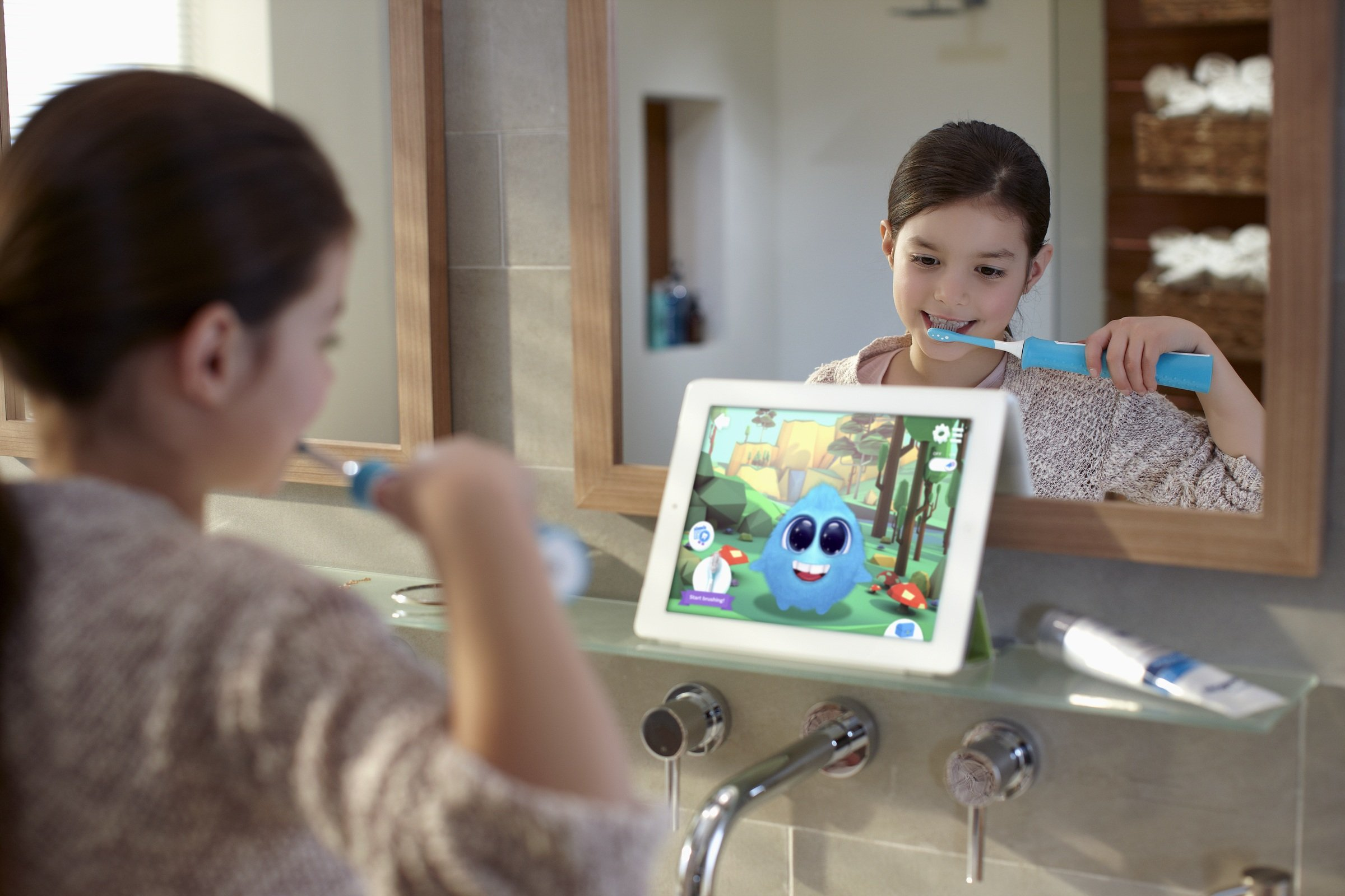 Philips Sonicare for Kids Bluetooth Connected Rechargeable Electric Toothbrush, HX6321/02 by Philips Sonicare (Image #4)