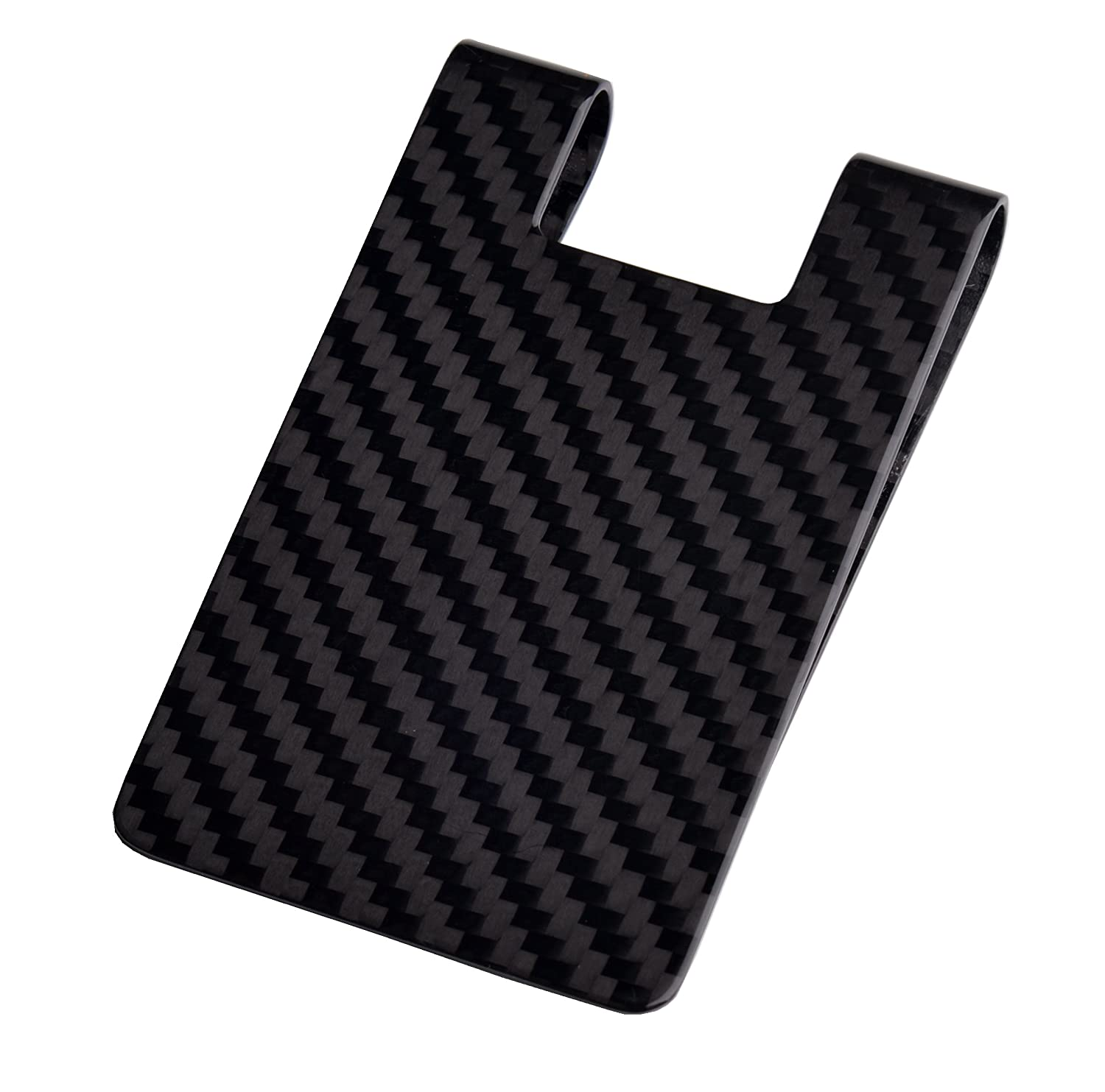 Carbon fiber money clip credit card holder cl carbonlife rfid carbon fiber money clip credit card holder cl carbonlife rfid glossy clips for men 3k at amazon mens clothing store magicingreecefo Gallery