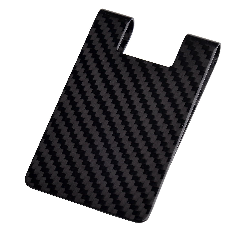 Carbon Fiber Money Clip-Credit card holder CL CARBONLIFE RFID ...