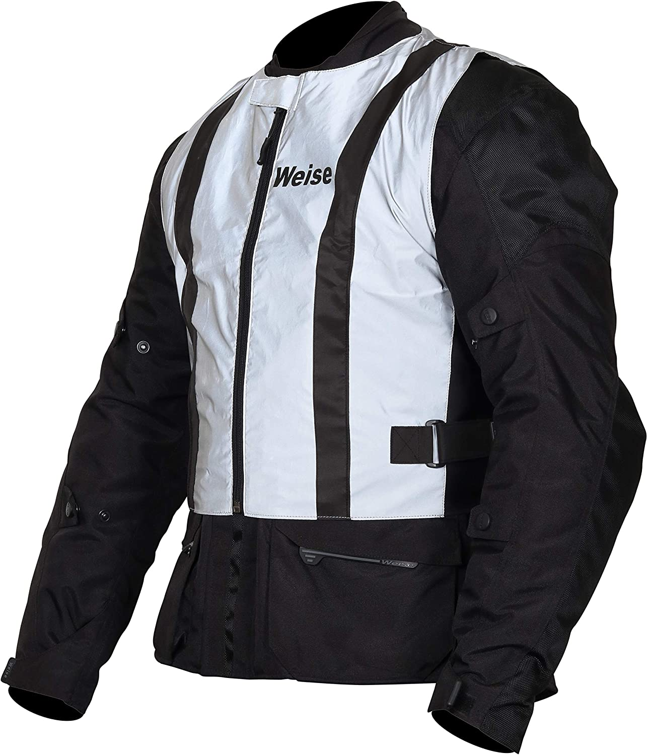 Size 2XL//3XL Weise Vision Gilet Silver