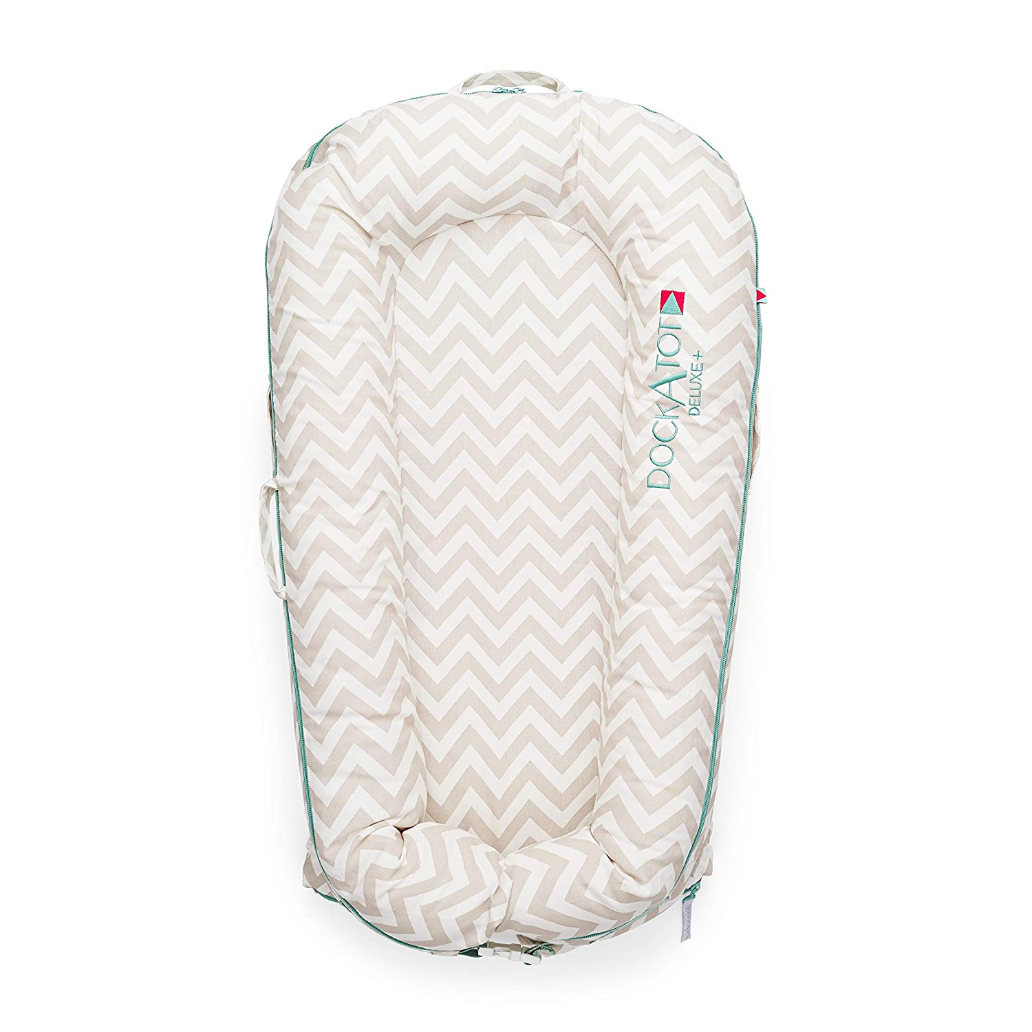 COVER ONLY (Strawberry Cream) for DockATot Deluxe+ Dock - DOCK SOLD SEPARATELY - Compatible with All DockATot Deluxe Docks 20102