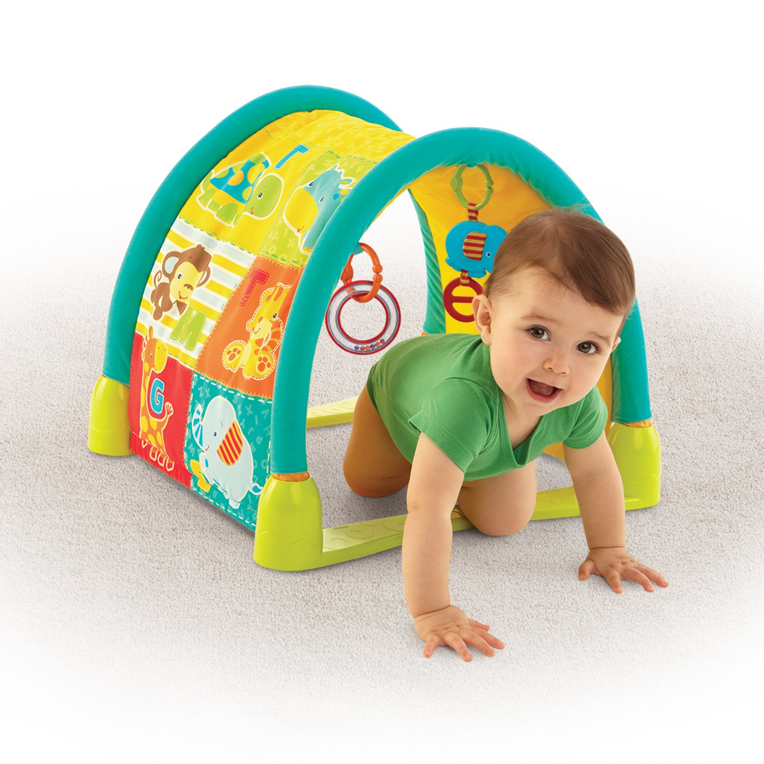 Amazon Bright Starts 3 in 1 Fun Tunnel Jungle Baby