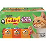 Purina Friskies Gravy Pleasers Variety Pack Cat Food - (24) 8.25 lb. Box